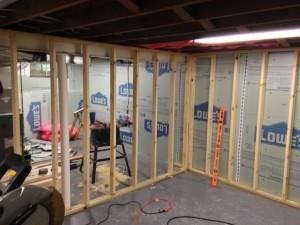 Basement Studio Framed